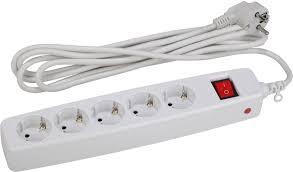 Купить <b>Сетевой фильтр ЭРА</b> SF-<b>5es</b>-<b>2m</b>-<b>W</b>, белый в интернет ...