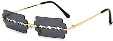 HDCRAFTER <b>Fashion</b> Flame Sunglasses for Small Face <b>Women</b>