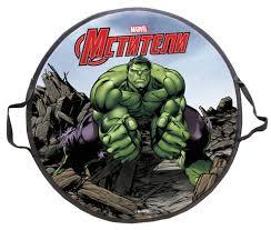 <b>Ледянка</b> 1Toy <b>Marvel Hulk 52</b> см, круглая - купить в интернет ...