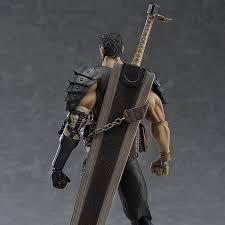 Black <b>Swordsman</b> Ver 359 Figma Berserk Guts Repaint Edition ...