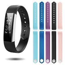 Wrist Band For ID115 Strap <b>Replacement Silicone Smart Watch</b> ...