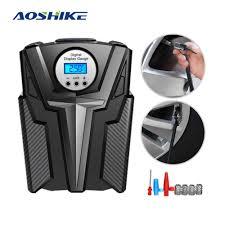 <b>AOSHIKE</b> 12V <b>Car</b> Portable Air Compressor Pump Digital Tire ...