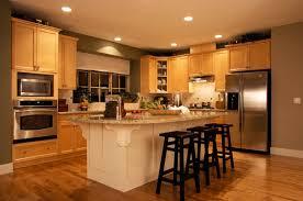 Honey Maple Kitchen Cabinets Kitchen Honey Maple Kitchen Cabinet Combined With White Kitchen