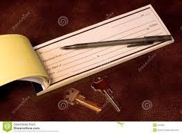 rent receipt form royalty stock photos image 27746188 rent receipt keys royalty stock image