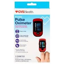 <b>Finger Pulse Oximeter</b>   CVS Pharmacy