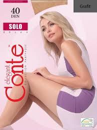 ROZETKA | <b>Колготки Conte Solo</b> 40 Den 5 Grafit (4810226047286 ...