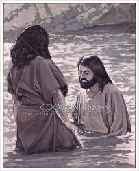 Image result for john baptizing jesus images