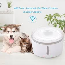 New <b>3L</b> WIFI Smart <b>Automatic Pet</b> Water Fountain Silent Cat ...