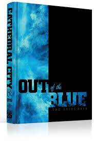 best ideas about yearbook theme yearbooks yearbook cover cathedral city high school out of the blue theme