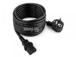 Купить <b>Кабель Gembird Cablexpert PC</b>-<b>186</b>-VDE-<b>5M 5m</b> Black по ...