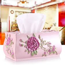 <b>European Creative</b> Lace <b>Tissue</b> Box <b>Multi function</b> Home Car ...