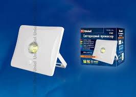 <b>Прожектор Uniel ULF</b>-<b>F31</b>-<b>10W</b>/<b>DW</b> Sensor IP65 100-265В White ...