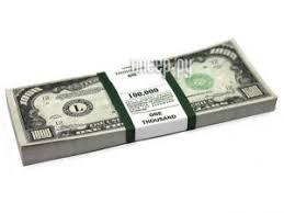 Купить <b>Эврика Забавная Пачка</b> 1000 долларов 94910 по низкой ...