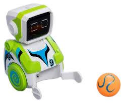 Интерактивный робот <b>Silverlit футболист Кикабот зеленый</b>
