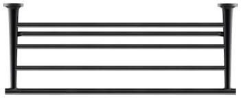 <b>Полочка</b> для полотенец Duravit Starck T 610мм, чёрный матовый ...