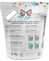 Силикагелевый наполнитель для кошачьих туалетов <b>Fresh Cat</b> ...