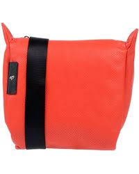 <b>Mandarina Duck</b> Leather Cross-body Bag in <b>White</b> - Save 5% - Lyst