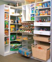 photos kitchen cabinet organization: two rattan basket wire shelves with kitchen pantry organization