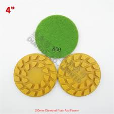<b>3pcs</b> Dia100mm Resin bond Flower type diamond <b>floor</b> polishing ...
