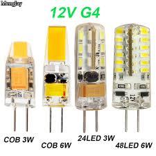 <b>NEW</b> Arrival 12V AC/DC COB <b>G4 LED Bulb</b> 3W 6W COB <b>LED G4</b> ...
