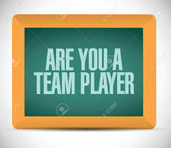 are you a team player message illustration design over a white vector are you a team player message illustration design over a white background