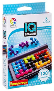 Головоломка <b>BONDIBON</b> Smart Games <b>IQ</b>-Элемент (ВВ0941 ...
