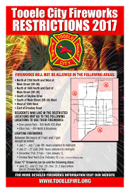 Do you plan to light fireworks on New Years Eve? | Tooele City