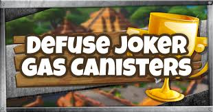 Fortnite | Joker Gas Canisters Locations