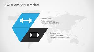 swot analysis template for powerpoint slidemodel strengths weaknesses slide