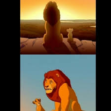 Lion King - caption | Shadowy Place Meme Generator via Relatably.com