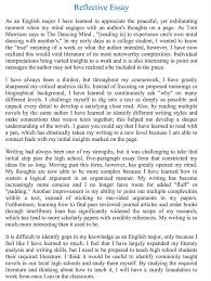 Personal Recount   Reflective Essay Writing   For Lower Secondary