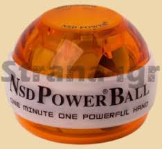 <b>Кистевой тренажёр Powerball 250</b> Hz Neon Amber (model 688 ...