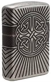<b>Зажигалка Zippo</b> Armor® с покрытием <b>Antique Silver</b>, 29667 на ...