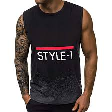 Mens Skull Print Stringer Bodybuilding Gym Tank ... - Amazon.com