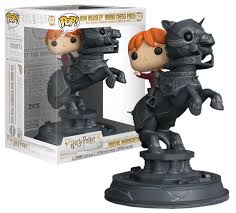 Funko Pop! Harry Potter Movie Moments Ron Weasley Riding ...