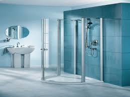 bathroom box blue modern bathroom with glass shower box design ideas five