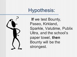 Rainbow Science  Absorption   Teach Beside Me paper towel comparisons