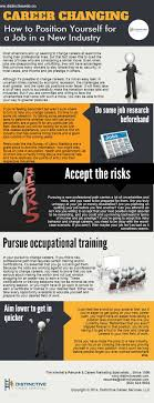 best images about career job search infographics an infographic on changing and how to position yourself for a job in a new industry
