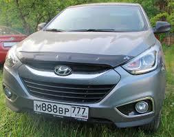 "1. <b>Дефлектор капота</b> ""<b>EGR</b>"" — Hyundai ix35, 2.0 л., 2014 года на ..."