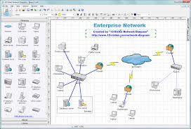 strike network diagram   software for creating topology diagrams  strike network diagram screenshot  click to open a fullsize image