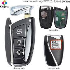 KEYECU <b>Replacement Smart</b> Keyless Entry Remote Control Key ...