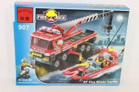 <b>Конструктор</b> 907 <b>Enlighten Brick Пожарная</b> техника 417дет.в кор ...