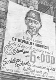 Dutch 1948 elections, VVD poster