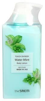 <b>Лосьон для тела Touch</b> On Body Water Mint Body Lotion 300мл ...