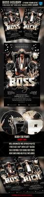 boss holiday flyer template by briell graphicriver boss holiday flyer template clubs parties events