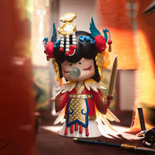 <b>Robotime Nanci 3 Dolls</b> Model Action Figure Toys Blind Box ...