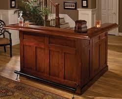 l shaped cherry home bar at home bar furniture