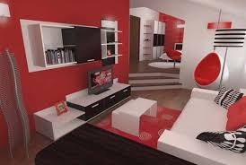 red black bedroom paint