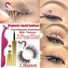 <b>1 Set Magnetic Liquid</b> Eyeliner with Five <b>Magnetic</b> False <b>Eyelashes</b> ...