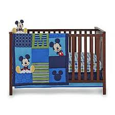 disney baby infant boys 4 piece mickey mouse crib bedding set baby mickey crib set design